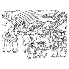 Top 10 Noah And The Ark Coloring Pages Your Toddler Will Love To Noah S Ark For Color Sheets