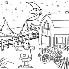Farm Coloring Pages For Toddlers Coloring Pages