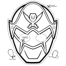 Pink Ranger Power Rangers Mask