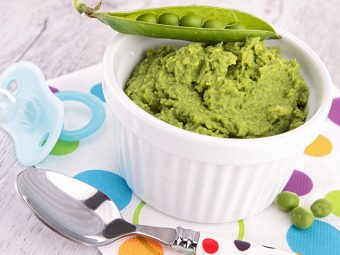 2 Easy And Quick Peas Recipes For Your Baby