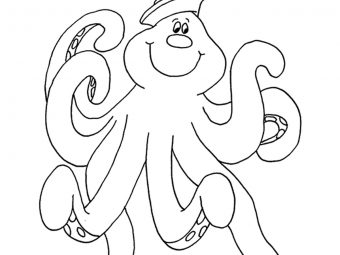 10 Cute Octopus Coloring Pages Your Toddler Will Love to Color