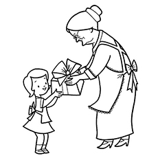 10 free printable grandma coloring pages online the happy birthday grandma bookmarktalkfo Images