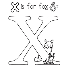 Top 10 Letter X Coloring Pages Your Toddler Will Love To Learn Color