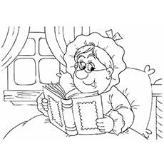 Top 10 Free Printable Grandma Coloring Pages Online