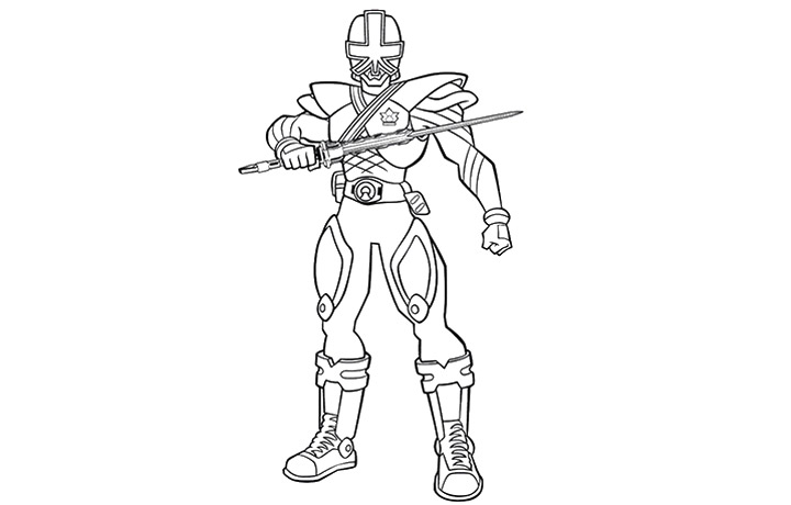 power rangers megaforce blue ranger coloring pages coloring pages