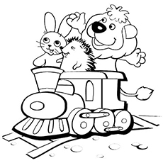 the-lion-hedgehog-and-bunny-on-train