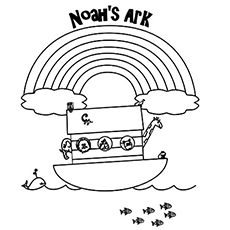 top 10 'noah and the ark' coloring pages your toddler will love to ... - Noahs Ark Coloring Pages Print