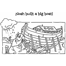 The Noah Built A Big Boat