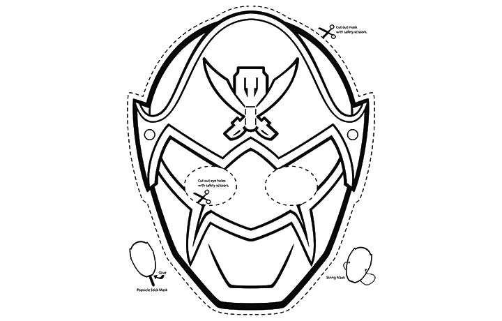 Power Rangers Masks Coloring Pages To Print Coloring Pages Power Rangers Mask Coloring Pages