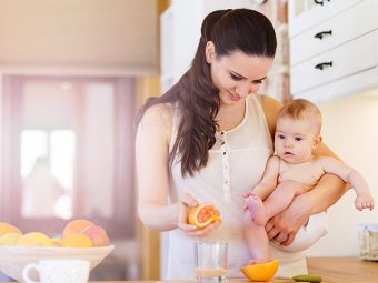 5 Amazing Benefits Of Grapefruit For Your Baby