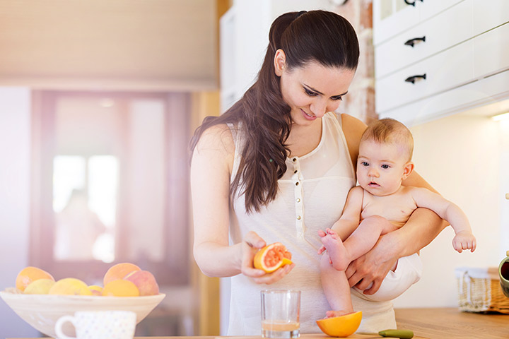 Grapefruit For Babies