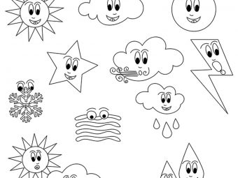10 Amazing Weather Coloring Pages For Your Toddler
