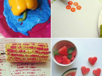 10 Fun And Innovative Vegetable Paintings For Kids