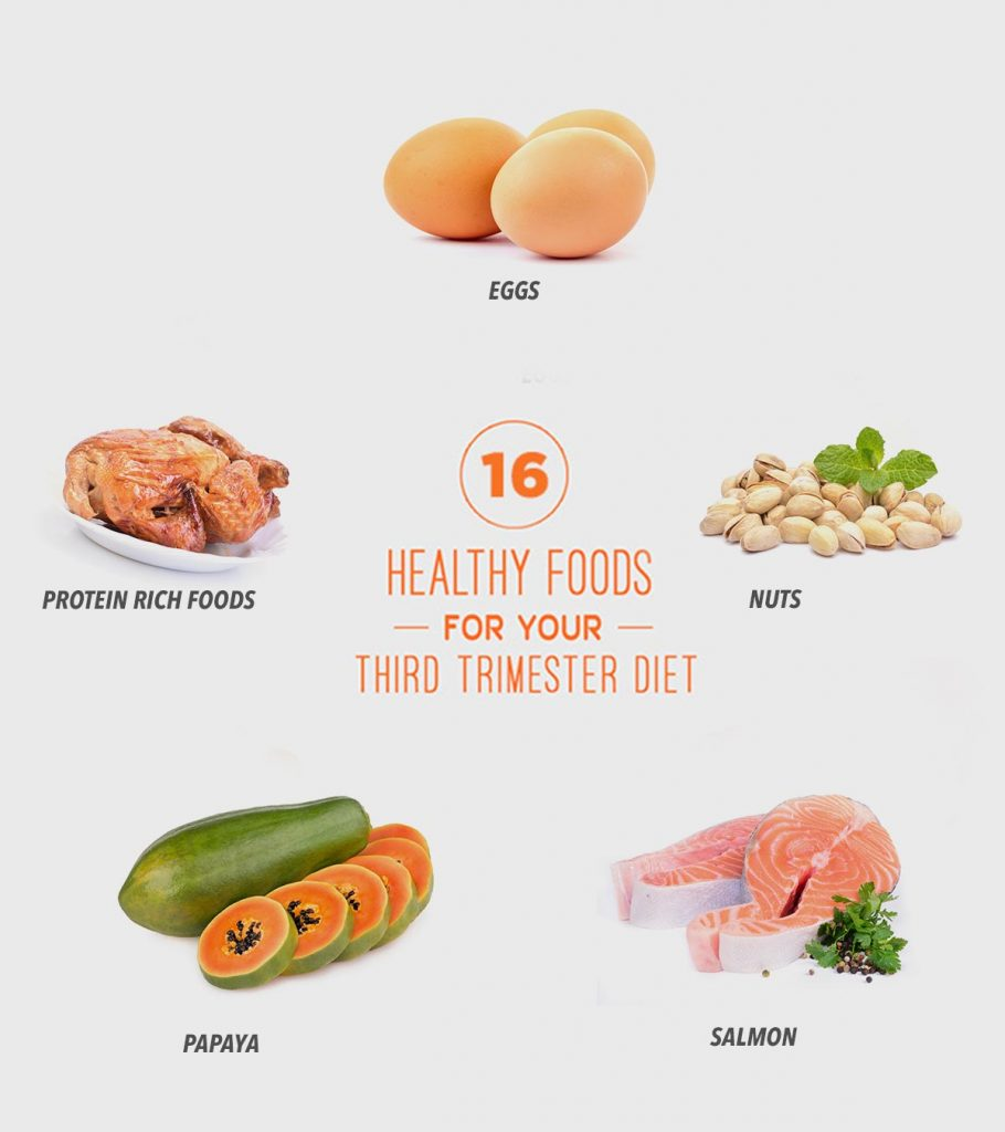 16 Nutritious Foods To Include In Your Third Trimester Diet
