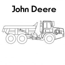 A Deere Dump Truck