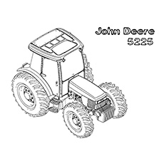 graphic regarding John Deere Printable referred to as 10 Absolutely free Printable John Deere Coloring Webpages On the web