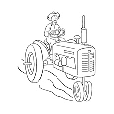 Free download John Deere Tractor Coloring Pages [1056x816] for ... | 230x230
