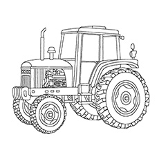 10 free printable john deere coloring pages online - John Deere Tractor Coloring Pages To Print