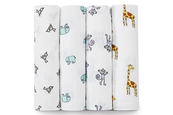 Aden + Anais Muslin Swaddle Blankets