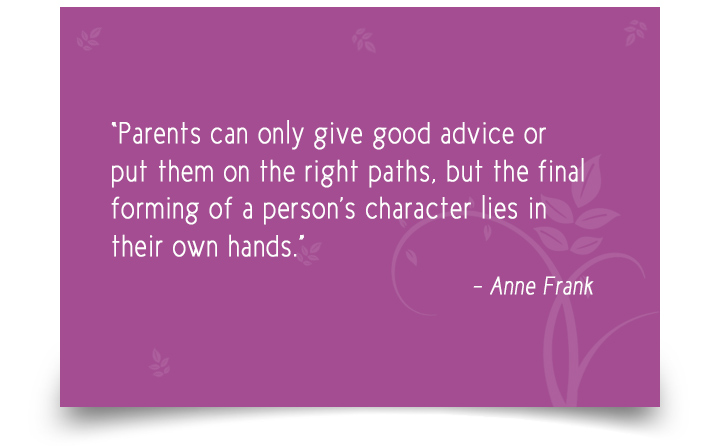Parent Quotes By Anne Frank