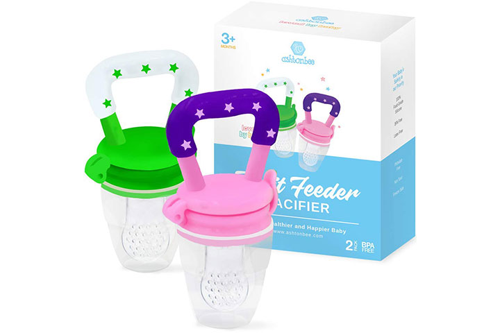 Ashtonbee Baby Fruit Feeder Pacifier
