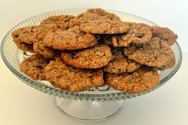 Baby Oatmeal And Apple Cookies