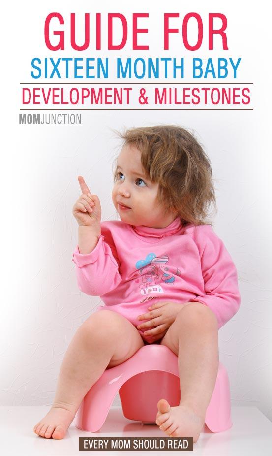 16 Month Old Baby Developmental Milestones