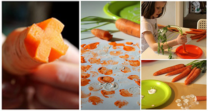 Carrot Painting