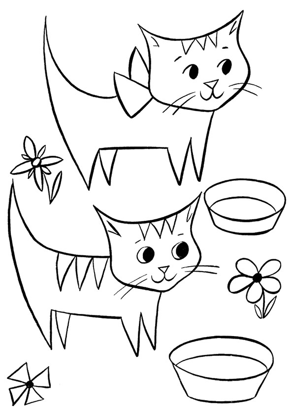 Cats-With-Bowls