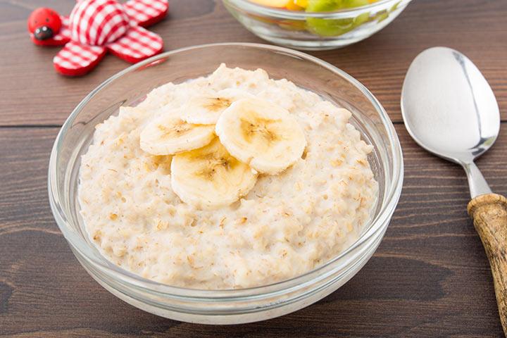 Creamy Banana Porridge