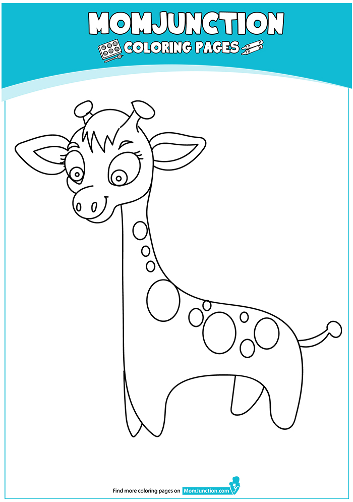 Cute-Giraffe-with-Dots-16