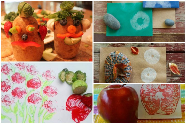 Fruits & Vegetables Craft Ideas