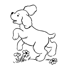 dog and puppy coloring pages – littapes.com | 230x230