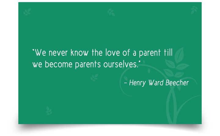 Quotes on Parent by Henry Ward Beecher
