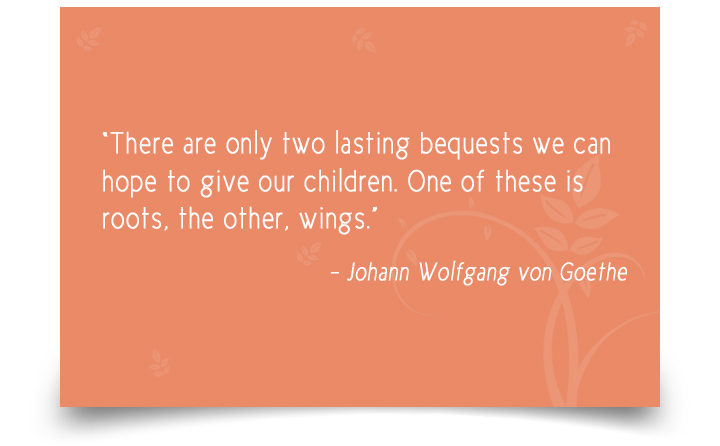 Being a Parent Quotes by Johann Wolfgang von Goethe