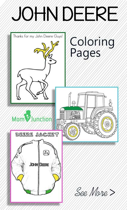 10 free printable john deere coloring pages online