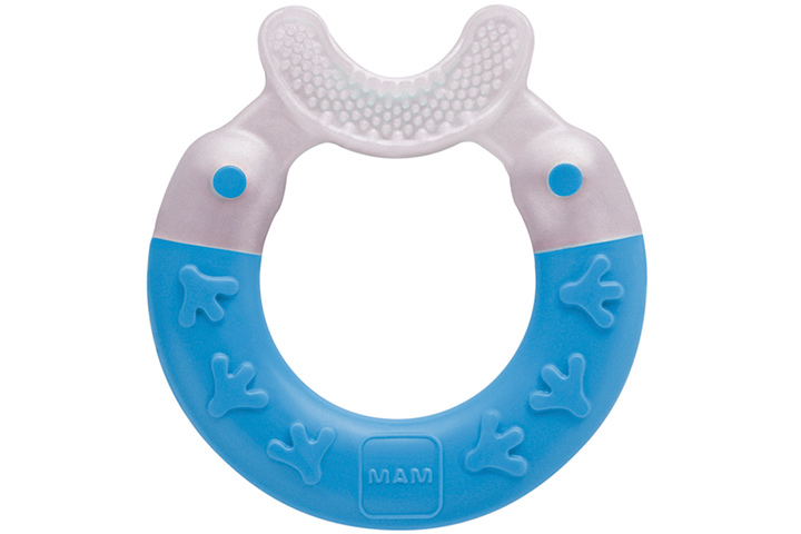 MAM Bite And Brush Teether - Soft Teethers for Babies