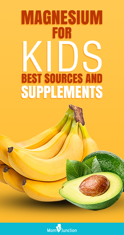 Magnesium For Kids – Best Sources And Supplements