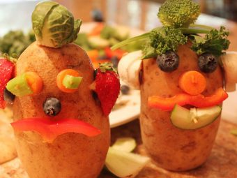 4 Interesting Fruits & Vegetables Craft Ideas For Kids