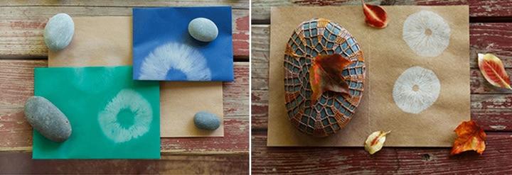Mushroom Print Pin Board