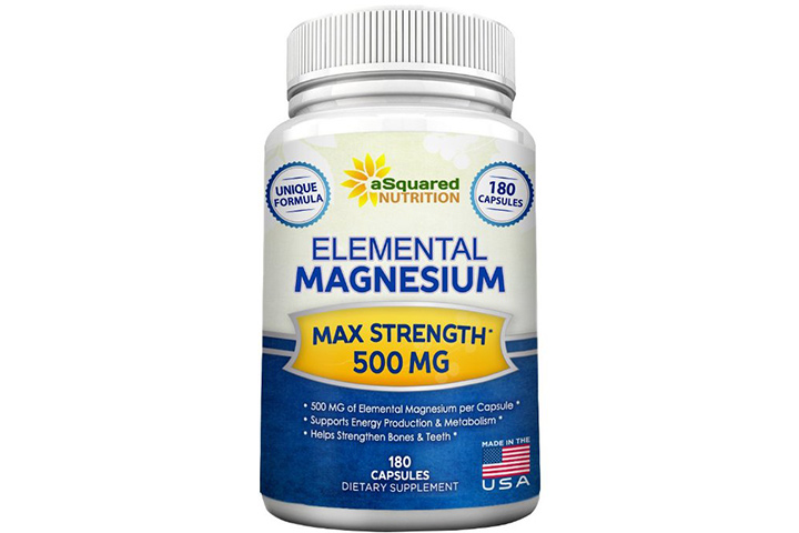 Squared Nutrition Elemental Magnesium Supplement