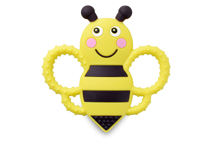 Sweetbee Buzzy Bee Silicone Teether Toy