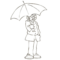 The-A-Man-With-An-Umbrella