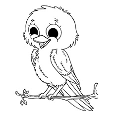 top 20 bird coloring pages your toddler will love to color - Bird Coloring Pages