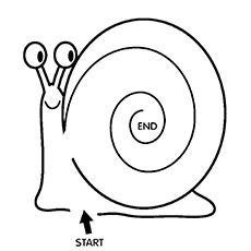 Snail Coloring Page | www.pixshark.com - Images Galleries ...