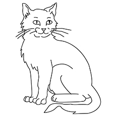 graphic regarding Cat Printable identify Final 30 Cost-free Printable Cat Coloring Web pages For Little ones