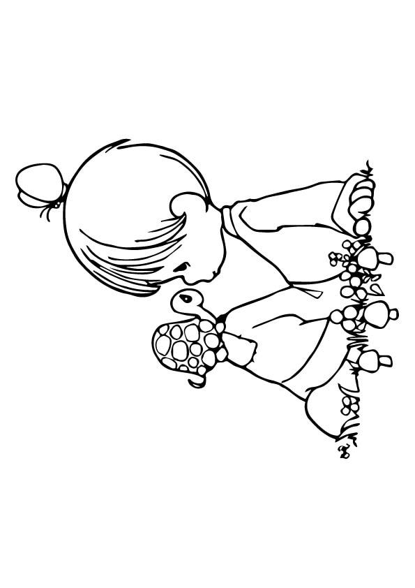 Turtle-Little-Girl