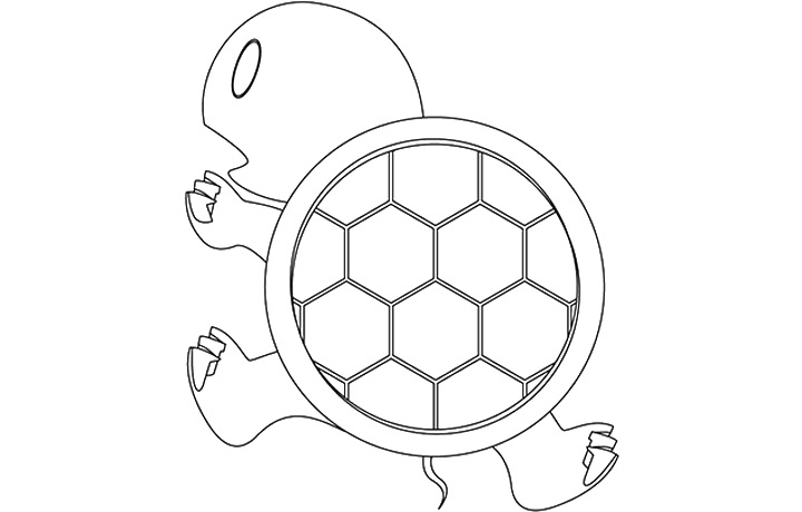 Koopa Shell Drawing Popular Turtle Shell