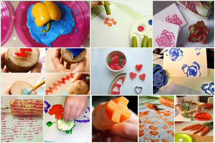Vegetable Paintings