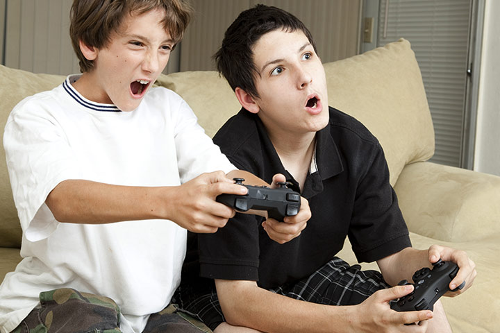 Violent Video Games On Kids
